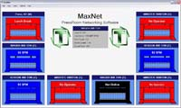 Maxnet - press room monitoring software and data collection